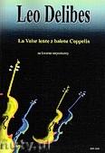 Ok�adka: Delibes L�o, Valse Lente na kwartet smyczkowy, partytura + g�osy