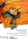 Okładka: Pasieczny Marek, Hommage a Aleksander Tansman na gitarę