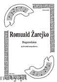 Okładka: Żarejko Romuald, Bogurodzica na kwartet smyczkowy