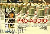 Okładka: Szlifirski Krzysztof, Pro - Audio. Angielsko - polski słownik terminologii nagrań dźwiękowych