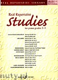 Okładka: Różni, Real Repertoire Studies For Piano, Grades 2 - 4