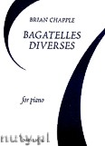 Ok�adka: Chapple Brian, Bagatelles Diverses For Piano