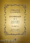 Okładka: Gatayes Guillaume P. A., Duo Brillant op. 104 na gitarę i fortepian