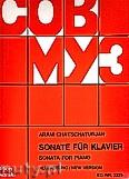 Okładka: Chaczaturian Aram, Sonata for Piano (New Version)