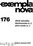 Okładka: Schnittke Alfred, Klaviersonate Nr. 2
