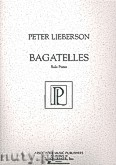 Okładka: Lieberson Peter, Bagatelles for Piano