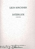Ok�adka: Kirchner Leon, Interlude for Solo Piano
