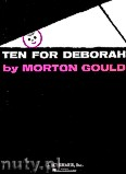 Okładka: Gould Morton,  Ten For Deborah