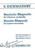 Ok�adka: Rachmaninow Sergiusz, Russian Rhapsody for Two Pianos Four Hands