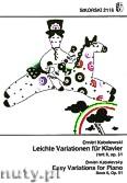 Okładka: Kabalewski Dymitr, 5 Easy Variations for Piano, Op. 51, Book 2