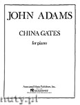 Ok�adka: Adams John, China Gates for Piano