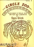 Ok�adka: Glick Sara, Circle Zoo for Piano, Level 1