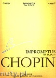 Ok�adka: Chopin Fryderyk, Impromptus op. 29, 36, 51. Seria A, utwory wydane za �ycia kompozytora, tom III
