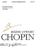 Ok�adka: Chopin Fryderyk, R�ne utwory. Seria B, utwory wydane po�miertnie, tom 5