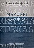 Ok�adka: Maciejewski Roman, Mazurki na fortepian, cz. 1