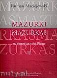 Ok�adka: Maciejewski Roman, Mazurki na fortepian, cz. 2