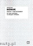Okładka: Nowak Aleksander, Sonata 'June-December' na skrzypce i fortepian