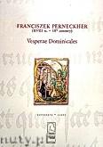 Okładka: Perneckher Franciszek, Vesperae Dominicales (partytura)