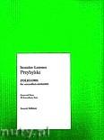 Okładka: Przybylski Bronisław Kazimierz, Folklore - Suita na 12 akordeonów i bas (partytura + głosy)