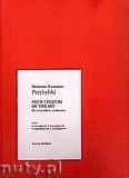 Okładka: Przybylski Bronisław Kazimierz, Cztery kolory nieba na orkiestrę akordeonową (partytura + głosy)