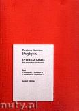 Okładka: Przybylski Bronisław Kazimierz, Interval Games na orkiestrę akordeonową (partytura + głosy)