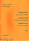 Ok�adka: Przybylski Bronis�aw Kazimierz, Chromatica na alt�wk� i kontrabas (partytura + g�osy, ca 2')