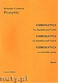 Okładka: Przybylski Bronisław Kazimierz, Chromatica na marimbę i gitarę (partytura + głosy, ca 2')