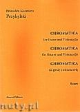 Okładka: Przybylski Bronisław Kazimierz, Chromatica na gitarę i wiolonczelę (partytura + głosy, ca 2')