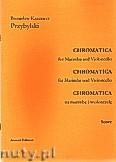 Okładka: Przybylski Bronisław Kazimierz, Chromatica na marimbę i wiolonczelę (partytura + głosy, ca 2')