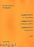 Okładka: Przybylski Bronisław Kazimierz, Chromatica na altówkę i flet (partytura + głosy, ca 2')