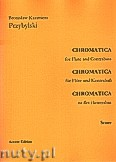 Okładka: Przybylski Bronisław Kazimierz, Chromatica na flet i kontrabas (partytura + głosy, ca 2')