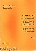 Okładka: Przybylski Bronisław Kazimierz, Chromatica na flet i marimbę (partytura + głosy, ca 2')