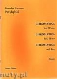 Okładka: Przybylski Bronisław Kazimierz, Chromatica na 2 flety (partytura + głosy, ca 2')