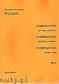 Okładka: Przybylski Bronisław Kazimierz, Chromatica na flet i obój (partytura + głosy, ca 2')