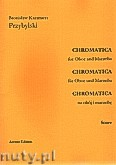 Okładka: Przybylski Bronisław Kazimierz, Chromatica na obój i marimbę (partytura + głosy, ca 2')
