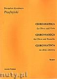 Ok�adka: Przybylski Bronis�aw Kazimierz, Chromatica na ob�j i alt�wk� (partytura + g�osy, ca 2')