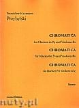 Okładka: Przybylski Bronisław Kazimierz, Chromatica na klarnet B i wiolonczelę (partytura + głosy, ca 2')
