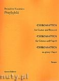 Okładka: Przybylski Bronisław Kazimierz, Chromatica na gitarę i fagot (partytura + głosy, ca 2')