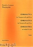 Okładka: Przybylski Bronisław Kazimierz, Chromatica na trąbkę B i obój (partytura + głosy, ca 2')