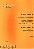 Ok�adka: Przybylski Bronis�aw Kazimierz, Chromatica na tr�bk� B i fagot (partytura + g�osy, ca 2')