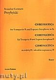 Okładka: Przybylski Bronisław Kazimierz, Chromatica na trąbkę B i saksofon sopranowy B (partytura + głosy, ca 2')