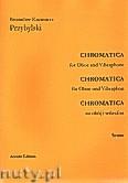 Ok�adka: Przybylski Bronis�aw Kazimierz, Chromatica na ob�j i wibrafon  (partytura + g�osy, ca 2')