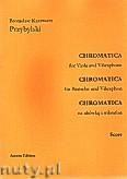 Okładka: Przybylski Bronisław Kazimierz, Chromatica na altówkę i wibrafon (partytura + głosy, ca 2')
