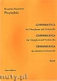 Okładka: Przybylski Bronisław Kazimierz, Chromatica na wibrafon i wiolonczelę (partytura + głosy, ca 2')