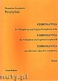 Okładka: Przybylski Bronisław Kazimierz, Chromatica na wibrafon i saksofon sopranowy B (partytura + głosy, ca 2')