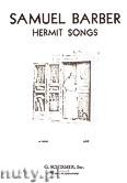 Okładka: Barber Samuel, Hermit Songs (High Voice)