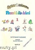 Okładka: , Śpiew i zabawa, Piosenki dla dzieci na fortepian lub keyboard, z. 1