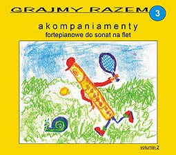 Okładka: Haendel G.F, Telemann Georg Philipp, Grajmy razem 3. Akompaniamenty fortepianowe do sonat na flet