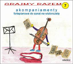 Ok�adka: , Grajmy razem  7, Akompaniamenty fortepianowe do sonat na wiolonczel�, Benedetto Marcello - Sonata e-moll nr 2