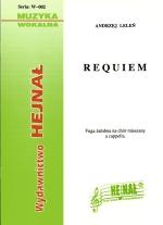 Okładka: Leleń ks. Andrzej, Requiem